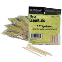 3.5&#34 Wood Applicators Wax and Make Up 100 pack Photo
