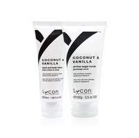 Lycon Coconut Vanilla Sugar Scrub & Lotion Set Photo