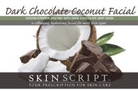 Skin Script Dark Chocolate Coconut Facial Photo