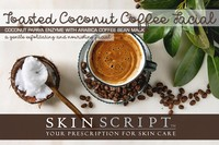 Skin Script Toasted Coconut Facial Duo Photo